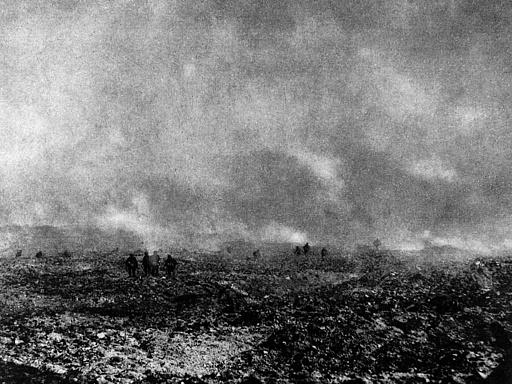 1. Weltkrieg Außenaufnahme