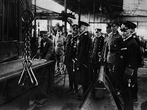 Besuch von Kaiser Wilhelm II. in Kiel