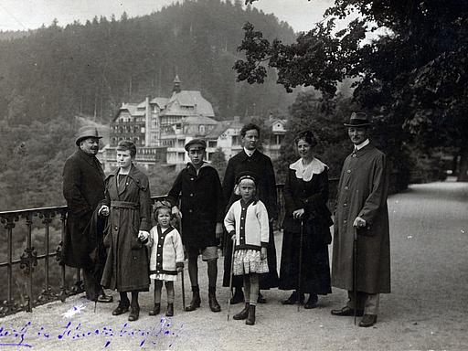 Urlaub im Thüringer Wald, Schwarzburg